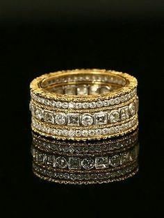 Buccellati Diamond Eternity Band - but if it comes in platinum or white gold. Buccellati Diamond Eternity Band - but if it comes in platinum or white gold. Bling Bling, Jewelry Accessories, Jewelry Design, Do It Yourself Fashion, Italian Jewelry, Eternity Bands, Beautiful Rings, Diamond Jewelry, Silver Jewelry