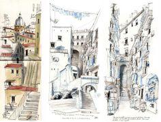 Urban Sketchers: USk News: Countdown to workshop in Naples