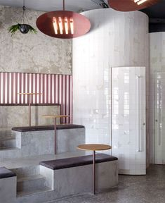 40 Ideas For Design Cafe Interior Architecture Cafe Interior Design, Interior Exterior, Home Interior, Modern Interior Design, Interior Design Inspiration, Interior Architecture, Bar Design, Coffee Shop Design, Design Set