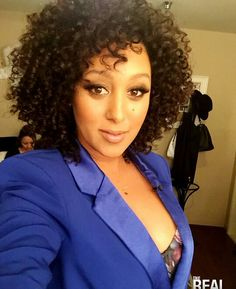 Gorgeous Natural Curls. This Lady is beyond beautiful.  #TameraMowryHousley