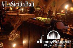 Mondays.... Mondays. evening ? The only place to be 8pm #LaSiciliaBali #Seminyak...  #JimmyRougerie #DJsax #Singer . . . . . . #Saxophone #DJ #bali #ableton #apc40 #SaxuallyActive #SaxEducation#saxlife #djlife #saxhouse #deephouse #chillout #electro #jazz #nowplaying#BaliConcierge #wedding #birthdayparty #beachparty #beachclub#BaliWedding #weddingparty