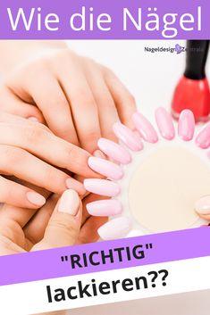 #nagellack #Nägel lackieren #Nageldesign #Tipps&Tricks Fingernagel Make Up, Nails, Tricks, Pastel Palette, Light Skin, Skin Colors, Finger Nails, Ongles, Nail