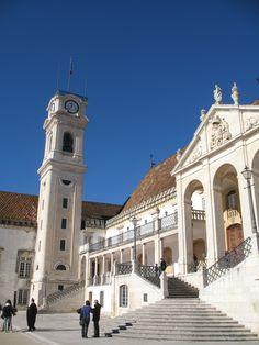 Universidade de Coimbra Fotografia de Fernanda Sant`Anna do Espirito Santo e Clóvis do Espirito Santo Jr.