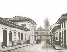 Rua da Imperatriz (atual 15 de Novembro), em 1862.