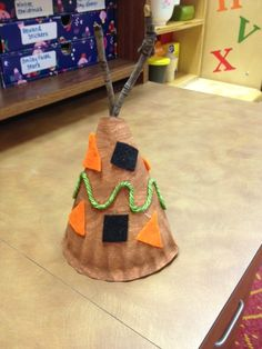 Preschool Teepee Thanksgiving craft