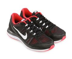 Red Dual Fusion Run. Nike gives comfort and a stylish appearance while exercising. Dual Fusion Run 3 Msl with modern design and multicolored blend. Equipped mesh upper for comfort and dual fusion exercise.  http://www.zocko.com/z/JJZoE