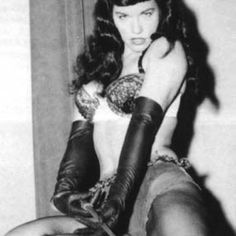 Inspiration Bettie Page