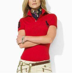 Ralph Lauren Womens Big Pony Polo Short T Shirts Clearance