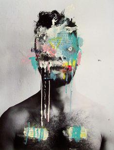 Miguel Leal, belleza y monstruosidad  #arte #pintura  Cóctel Demente