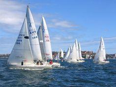 Yacht Racing @Sydney Harbour