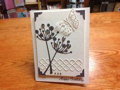 Memory Box Chloe, Tessatina Border and Pippi Butterfly