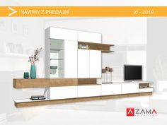 Custom Furniture, Furniture Ideas, Shelves, Living Room, Home Decor, Room Decor, Shelf, Living Rooms, Open Shelving