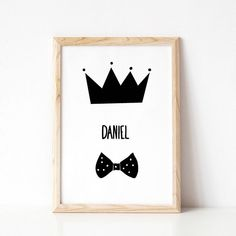 Surprise your little prince or BIG KING with a personalized Nursery Name Sign! This Little Prince Art (Le Petit Prince) is great as a standalone piece. It also goes well with other Black And White Nursery Prints by Cars For Mars. Nursery Name, Nursery Prints, Baby Prints, Nursery Wall Art, Baby Name Signs, Baby Names, Toddler Boy Gifts, Toddler Boys, White Nursery