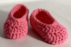 Crochet Basic Slippers Pattern