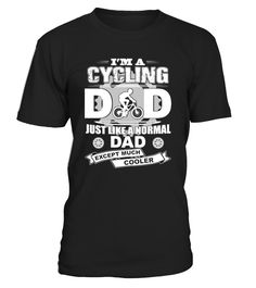 Mens Im A Cycling Dad Mountain   => Check out this shirt by clicking the image, have fun :) Please tag, repin & share with your friends who would love it. #dad #daddy #papa #shirt #tshirt #tee #gift #perfectgift #birthday #Christmas #fatherday