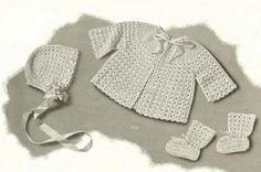 Bebeğin Kroşe Desen Kitabı için Fleisher'ın Tüy Döşemeleri