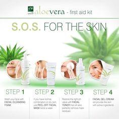 Gun jezelf een gekalmeerde huid. Hypoallergene Formule Reinigend gezichtsschuim, gezichtsmasker, gezichtstoner en een gel-crème www.ritaderudder.be