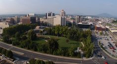Roanoke, VA, skyline