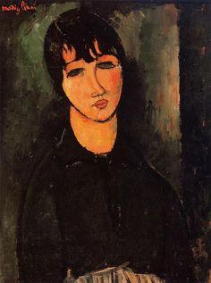 La petite servante (1916) Amedeo Modigliani