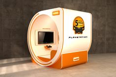 mobinil playstations tournament 5 booth on Behance