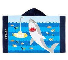 Classic Shark Beach Wrap #pbkids