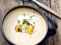 Soppa på gula kantareller och sherry (kock Katja Palmdahl)
