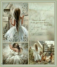 Don't sit and wait get out there enjoy life Word Collage, Color Collage, Collage Art, Beautiful Collage, Beautiful Pictures, Color Trends, Color Combos, Collages, Mood Colors