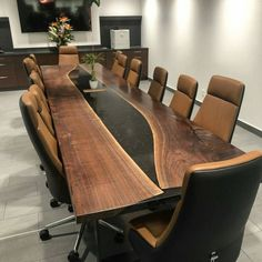 this page has prepared to getting payment for RAYMOND Description walnut conference table W 110 × L 330 cm Conference Table Design, Diy Resin Table, Resin Furniture, Furniture Design, Walnut Table, Live Edge Table, Office Interiors, Fort Lauderdale, Showroom