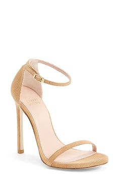 Stuart Weitzman 'Nudist' Sandal (Women) available at #Nordstrom #WestfieldUTC http://www.westfield.com/utc/stores/all-stores/us-nordstrom/