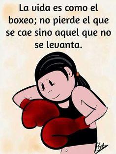 La vida es como el boxeo