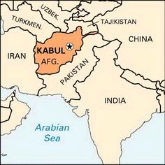Bagram Afghanistan Map | image_afghanistan map with bagram noted_ ...