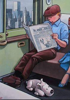 Comic Movies, Comic Books, Haddock Tintin, Tin Tin Cartoon, Beatnik Style, Herge Tintin, Norman Rockwell, Avatar The Last Airbender, Cool Posters