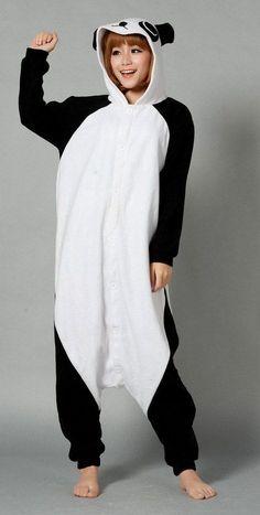 Cool Panda Kigurumi for women and men,http://www.hotonesie.com/s014-panda-onesie-p-14.html