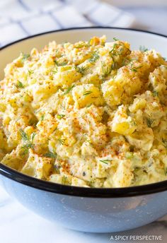 How To Make The Best Potato Salad Recipe. My mom's potato salad recipe is hands-down the best potato salad I, or anyone else who's tried it, has ever eaten!