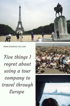 Five things I regret about using a tour company to travel through Europe — Roaming Fox Throughout The World, Around The Worlds, Travel Through Europe, Young Female, Tour Operator, Interesting Facts, Road Trips, Museums, Touring
