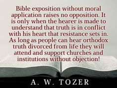 Filling a church with people is easy in the absence of moral obligation!