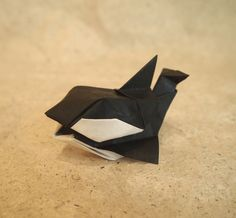 Origami Cube-Orca (Designed by Yoshihisa Kimura) by Lonely-Shiba