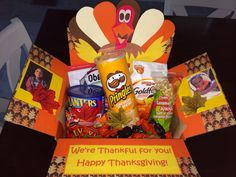 Customized Care Packages by PersonalParcels on Etsy Deployment Gifts, Care Packages, Happy Thanksgiving, Pop Tarts, Caramel, Snack Recipes, Packaging, Handmade Gifts, College