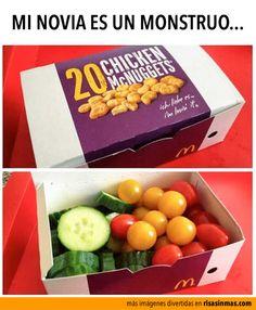 Mi novia es un monstruo.  #Nutrición y #Salud YG > nutricionysaludyg.com