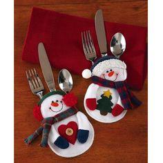 8PCS Schneemann Weihnachtsdekorationen Weihnachtsdeko fuer Tisch: Amazon.de: Baumarkt