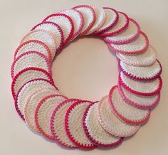 See related links to what you are looking for. Diy Crochet Patterns, Crochet 101, Love Crochet, Crochet Gifts, Crochet Doilies, Crochet Patron, Crochet Kitchen, Weaving Projects, Yarn Crafts