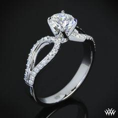 Infinity Diamond Engagement Ring   290