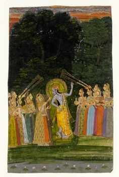 Krishna (Painting) | V&A Search the Collections