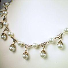 Jane Seymour Pearl Tier Necklace » The Anne Boleyn Files