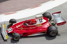 Then it all clicked. With the Lauda and Regazzoni pairing, Ferrari won their first constructors' championship for 11 years in 1975 and in the Austrian they also clinched the drivers' championship. Here Lauda crosses his arms to steer the highly successful 312T around Monaco