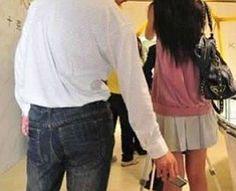 Primer arrestado por tomar fotos debajo de las faldas de una chica