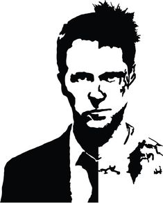Decorative Decals Home & Garden Tyler Durden, Funny Decals, Vinyl Decals, Edward Norton Fight Club, Fight Club Tattoo, Fight Club Rules, Scotland Funny, Music Tattoos, Fight Club