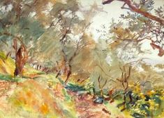 56 Ideas Olive Tree Painting John Singer Sargent #painting #tree