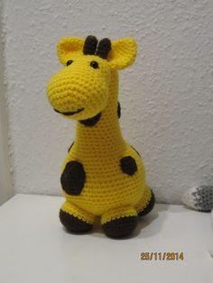 Gigi giraf opskrift på dansk her: Topping.dk