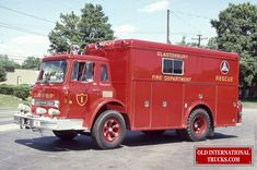 Old International Photos From The COE Fire Trucks • Old International Truck Parts